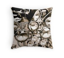 Mods day out Throw Pillow