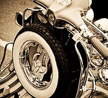 Old Mods day at the seaside by Pat Shawyer