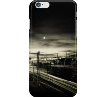 Noun and the Cottbus central station iPhone Case/Skin