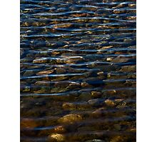 waving stones Photographic Print