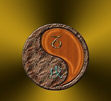 Capricorn & Dog Yang Wood by astrodesigner75