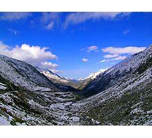 Sankt Gotthard Pass Photographic Print