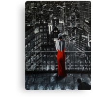 City Lights Canvas Print