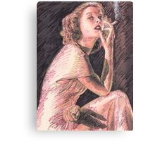 KATHERINE HEPBURN Canvas Print