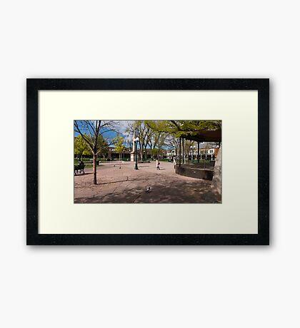 Central Plaza Framed Print