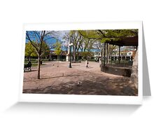 Central Plaza Greeting Card