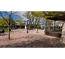 Central Plaza Photographic Print