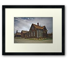 People With Glass Houses Framed Print