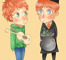 Ed Sheeran - Ron Weasley by ipiouart