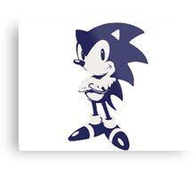 Minimalist Sonic 6 Metal Print