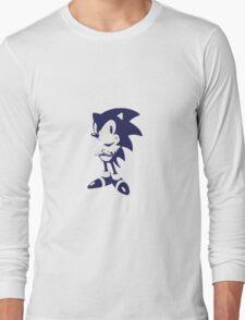 Minimalist Sonic 6 Long Sleeve T-Shirt