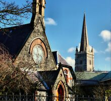 St Augustine's Church, Derry by Agnes McGuinness