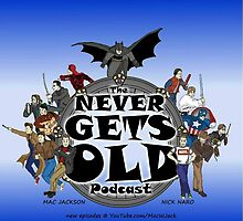 The Never Gets Old Hero Logo by MacJackson