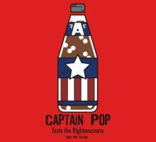 Captain Pop - Taste the Righteousness Kids Clothes