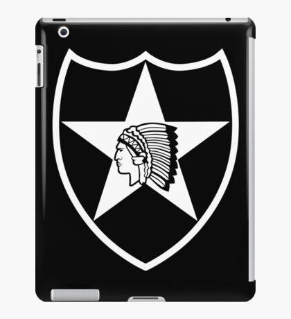 2nd Infantry stencil iPad Case/Skin