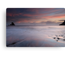 Talisker Bay at Sunset Canvas Print