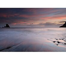 Talisker Bay at Sunset Photographic Print