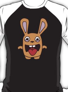 rabbit lapin funny cartoon T-Shirt