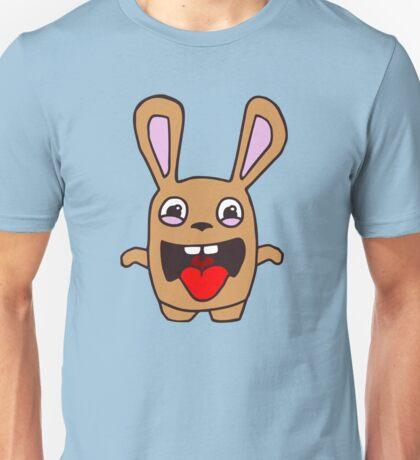 rabbit lapin funny cartoon Unisex T-Shirt