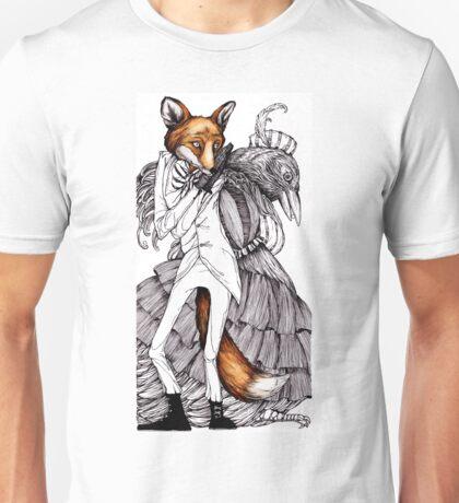 Fox and Crow Unisex T-Shirt