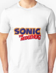Sonic the Hedgehog Logo Unisex T-Shirt