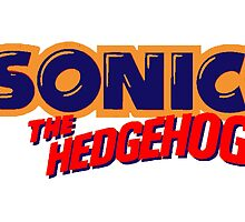 Sonic the Hedgehog Logo by 4xUlt