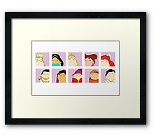 Disney Tiggle Profile Framed Print