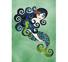 Aquamarine Mermaid Photographic Print