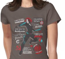I've Got Red In My Ledger Womens Fitted T-Shirt
