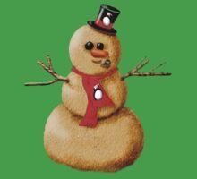 Sand Snowman! Kids Tee