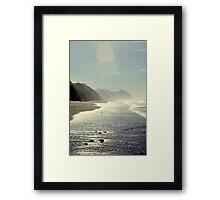 At the Beach 1005.C Framed Print