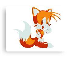 Minimalist Tails Canvas Print