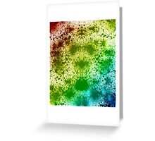 Symmetry Burst Greeting Card