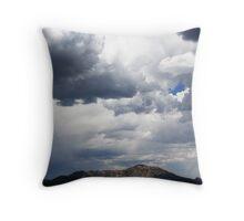 Sun Shining Through Throw Pillow