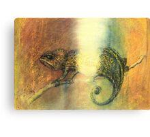 Chameleon and Light Canvas Print