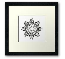 Skyrim Star Framed Print