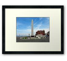 Blackpool Cenotaph Framed Print