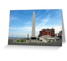 Blackpool Cenotaph Greeting Card