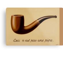 Renè Magritte - Ceci n'est pas une pipe Metal Print