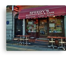 Speedy's Sandwich Bar 2.0 Canvas Print