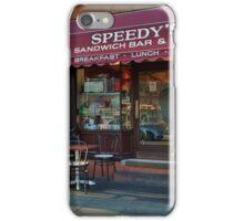 Speedy's Sandwich Bar 2.0 iPhone Case/Skin