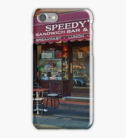 Speedy's Sandwich Bar 2.0 iPhone Case/Skin