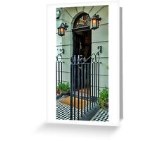 221b Baker Street Greeting Card