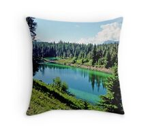 Valley of the Five Lakes, Jasper, Alberta, Canada Throw Pillow