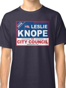 Vote Leslie Knope 2012 Classic T-Shirt