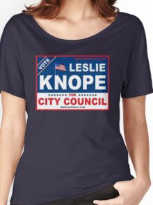 Vote Leslie Knope 2012 Women's Relaxed Fit T-Shirt