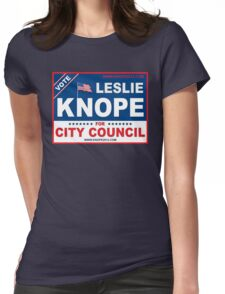 Vote Leslie Knope 2012 Womens Fitted T-Shirt