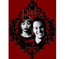 The Vampire Diaries - Kai Parker and Bonnie Bennett Photographic Print