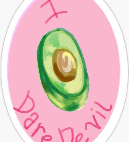 I Avocado Daredevil Sticker