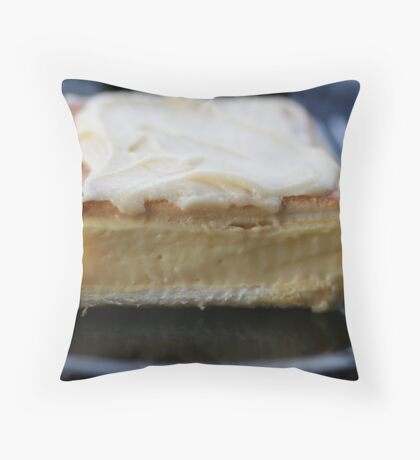 Vanilla Slice Throw Pillow